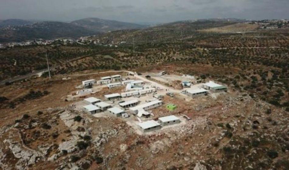 Gobierno israelí considera convertir Avitar en un asentamiento oficial