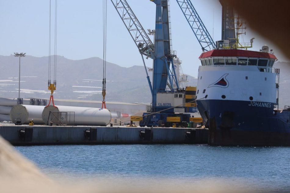 Sahara Resource Watch (WSRW) denuncia que Siemens Gamesa envía molinos de viento hacia el Sáhara Occidental ocupado