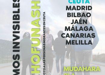 Concentraciones en apoyo a personas migrantes en Ceuta: 17-J