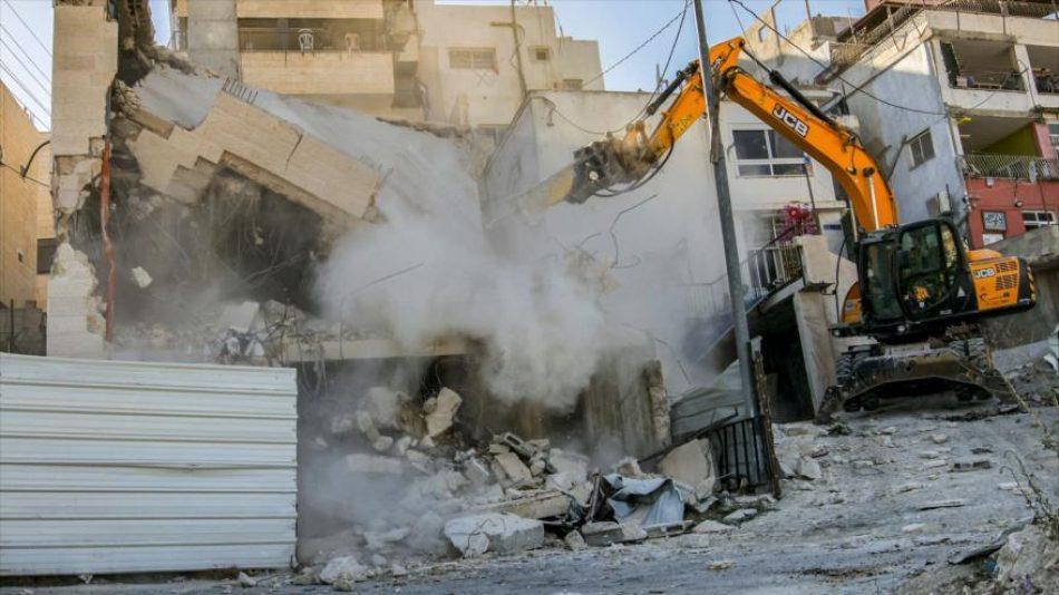 Naciones Unidas exige el fin de las demoliciones de viviendas palestinas en los territorio ocupados
