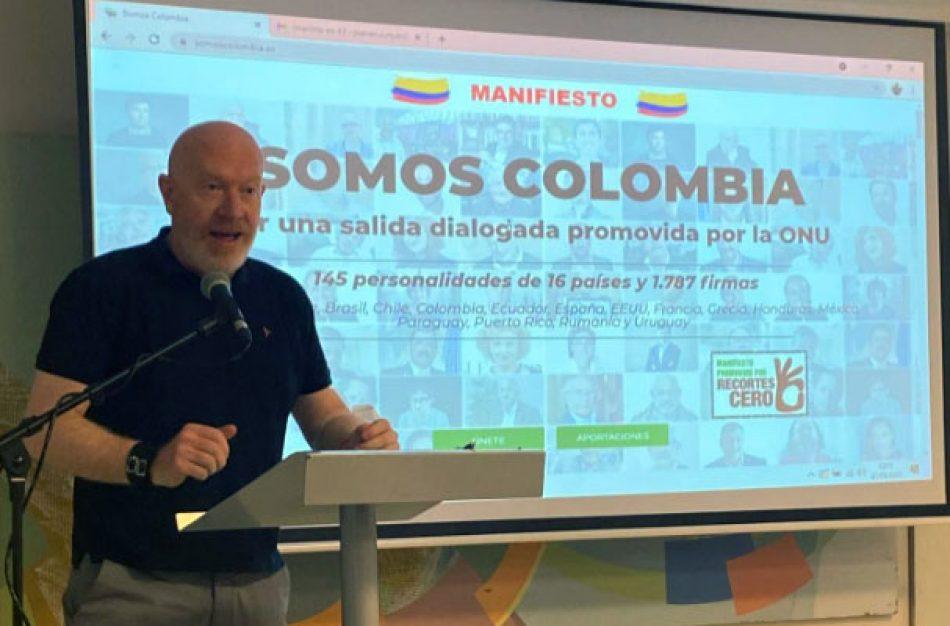 """La CIDH recibe a Recortes Cero por el manifiesto """"Somos Colombia"""""""