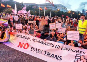 El orgullo regresa a las calles de Madrid con restricciones pero con un fuerte componente de reivindicación de los derechos trans
