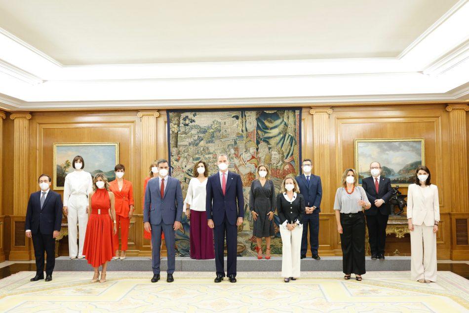 Unidas Podemos mantiene sus cinco Ministerios tras la remodelación del Gobierno Sánchez