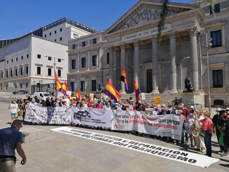 85 años de la intentona golpista fascista contra la II República: «Por una Ley de memoria que ponga fin a la impunidad del franquismo»
