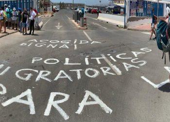 El Port d'Arguineguin i l'aeroport de Las Palmas de Gran Canàries, focus de les accions d'aquest dimarts de la Caravana Obrint Fronteres