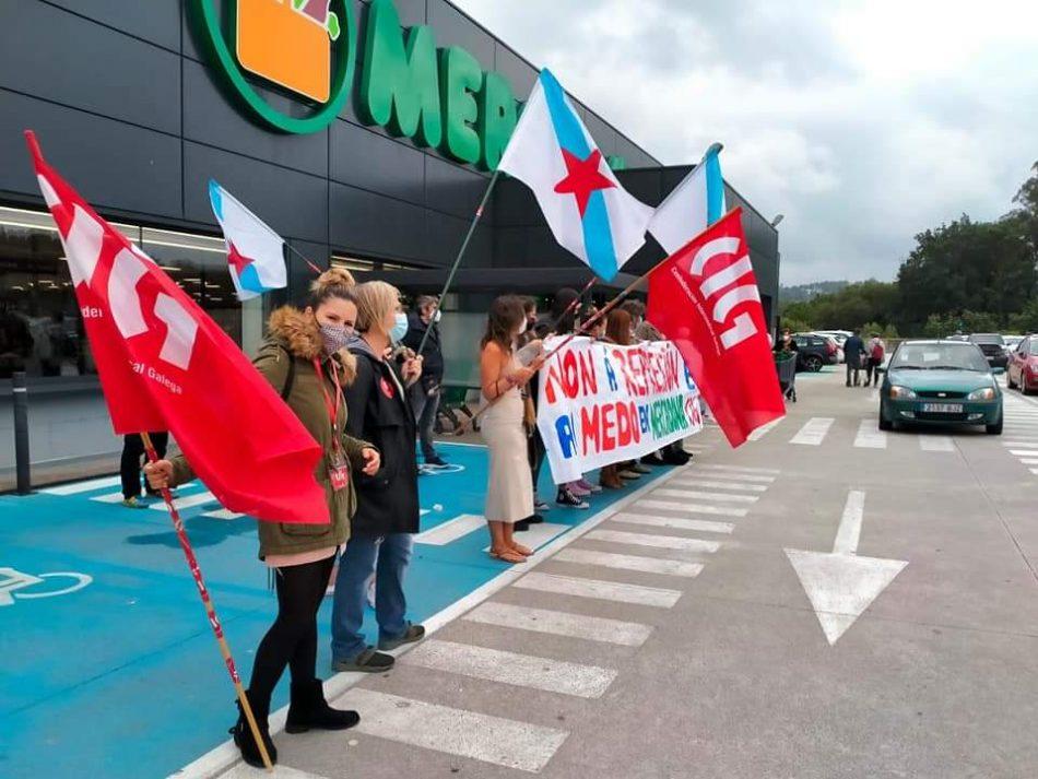 A CIG disposta a manter unha mobilización constante en MERCADONA para defender os dereitos e a dignidade das traballadoras/es