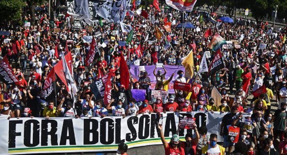 Brasil vive una nueva jornada de protestas masivas contra Jair Bolsonaro