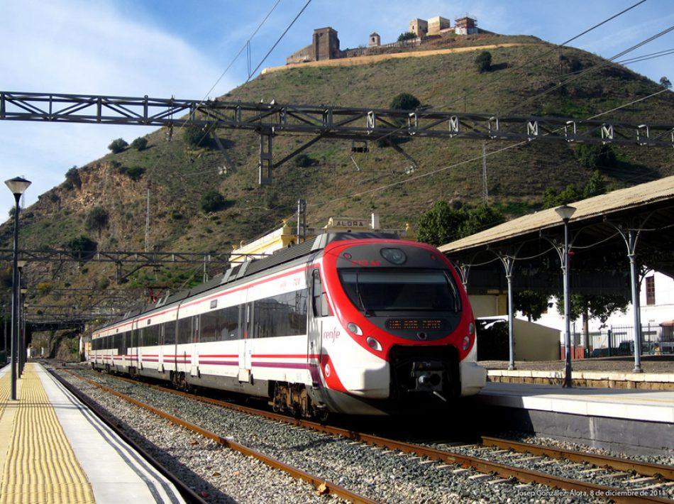 CGT denuncia la supresión de 18 trenes de cercanías de la línea Málaga-Fuengirola por falta de maquinistas