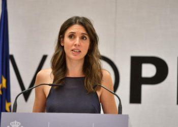 """Irene Montero: """"La libertad sexual constituye un eje central del derecho de ciudadanía, por eso España necesita esta ley"""""""