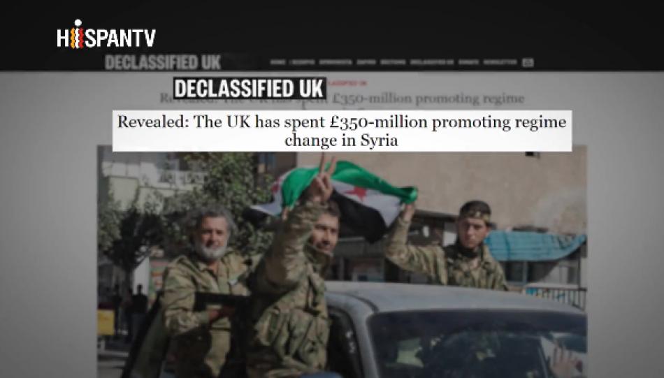 Informe revela cuánto gastó Reino Unido para derrocar a Al-Asad