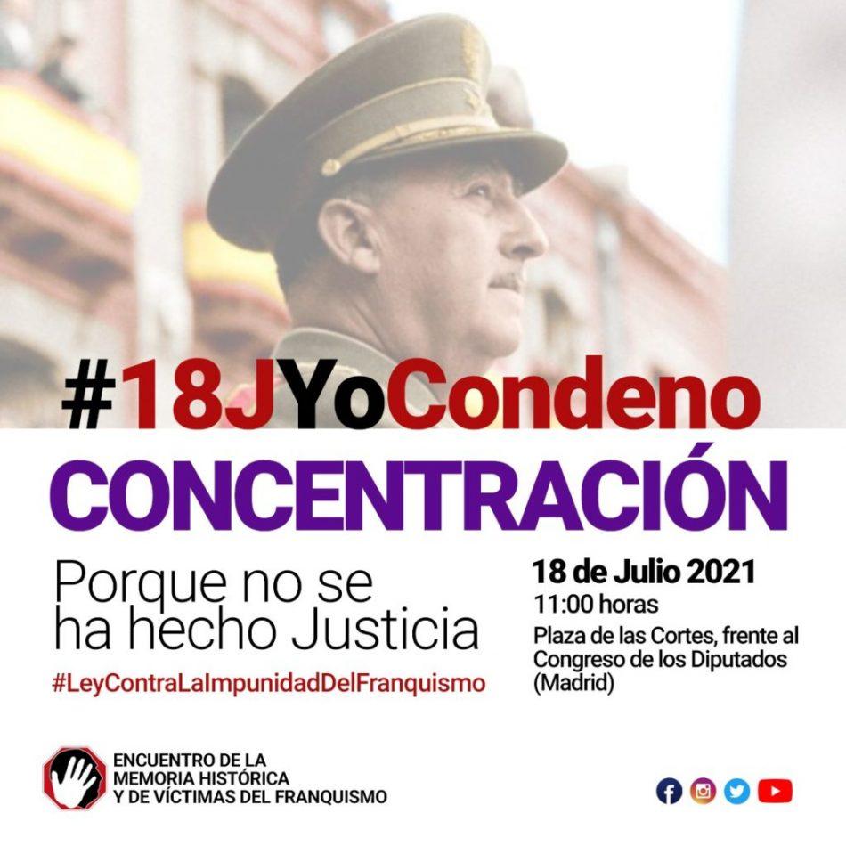 Concentración #18JYoCondeno