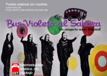 CGT Valencia pone en marcha el Bus violeta al Sahara