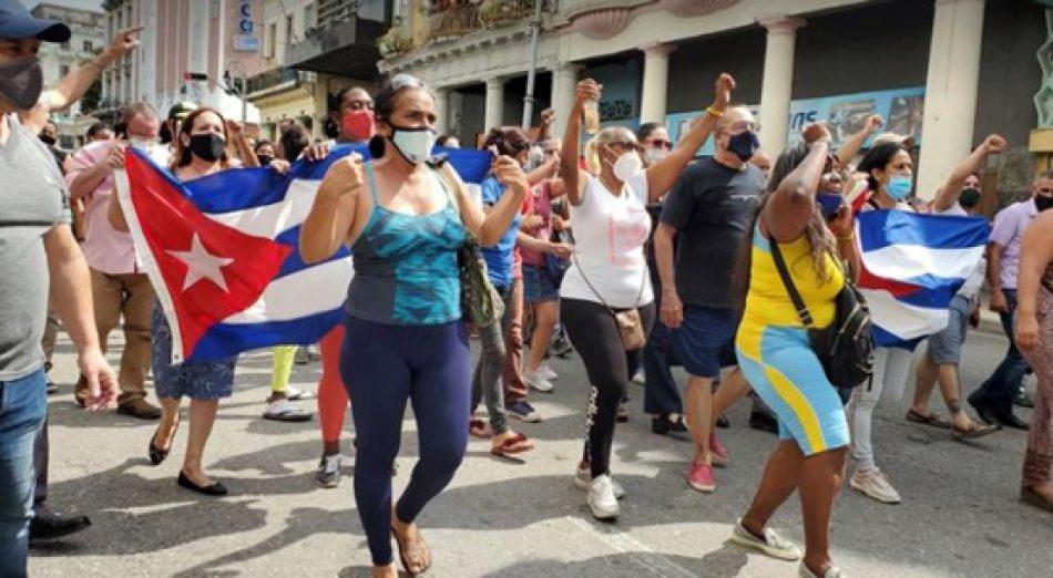 «Basta de manipulación y de cinismo, exigimos fin del bloqueo: solidaridad verdadera con el pueblo cubano»
