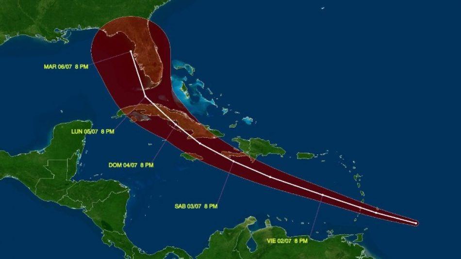 La Tormenta Tropical Elsa se aproxima a Cuba y Jamaica