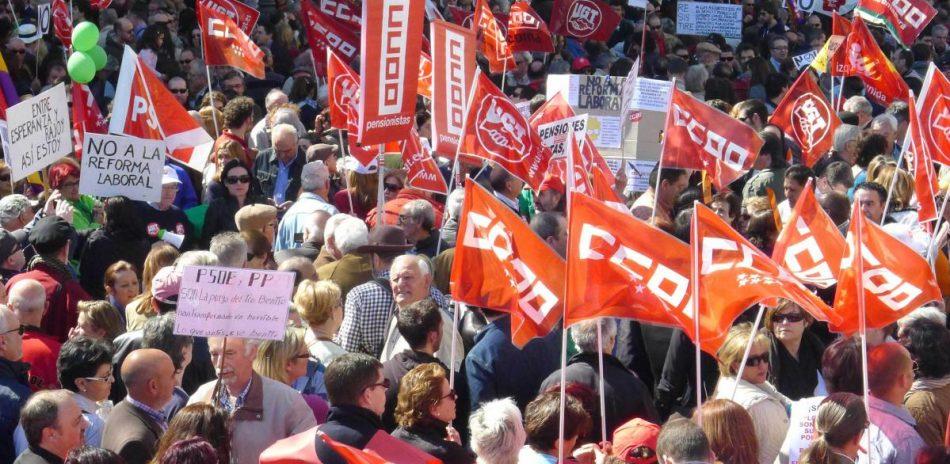 CCOO y UGT acusan a CEOE y CEPYME de tratar de bloquear la mesa sobre mercado laboral