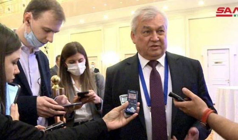 Rusia: mejorar situación humanitaria en Siria debe ser prioridad para la comunidad internacional