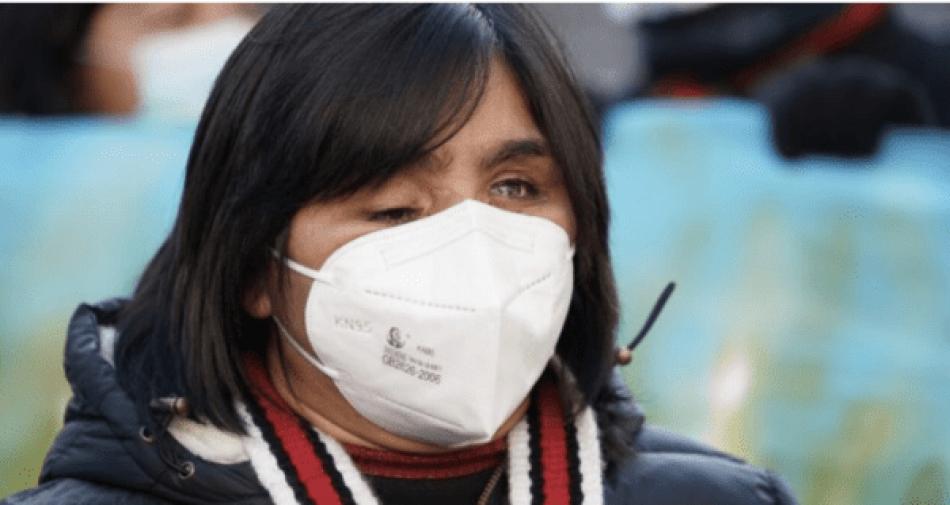 Víctima de represión de carabineros en Chile se postula como senadora
