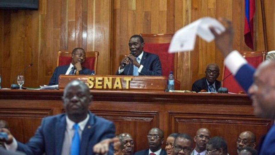 Aplazan investidura de Joseph Lambert como presidente provisional de Haití