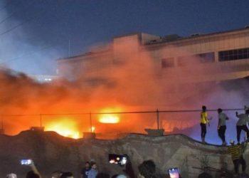 Incendio de hospital en Irak deja al menos 64 muertos