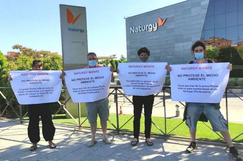 Ecologistas en Acción denuncia a Naturgy por ser una empresa insostenible