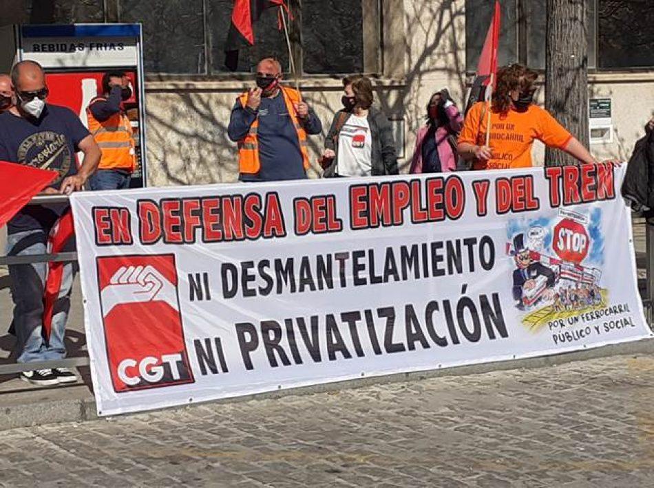 RENFE rehúye la negociación en el SERCLA y se niega a abordar la propuesta de CGT para evitar la huelga en Viajeros Málaga