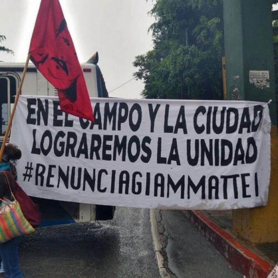 "Guatemala: ""Paro plurinacional"""