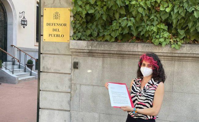 Vanessa Lillo solicita al Defensor del Pueblo que recurra al Tribunal Constitucional la Ley Telemadrid
