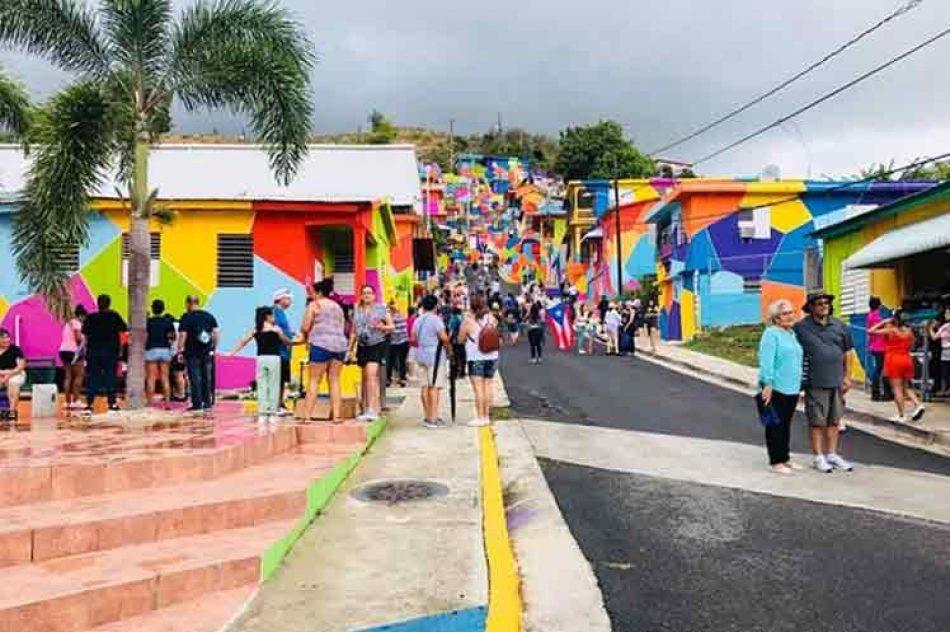 Un proyecto internacional realza el muralismo y arte urbano en Puerto Rico