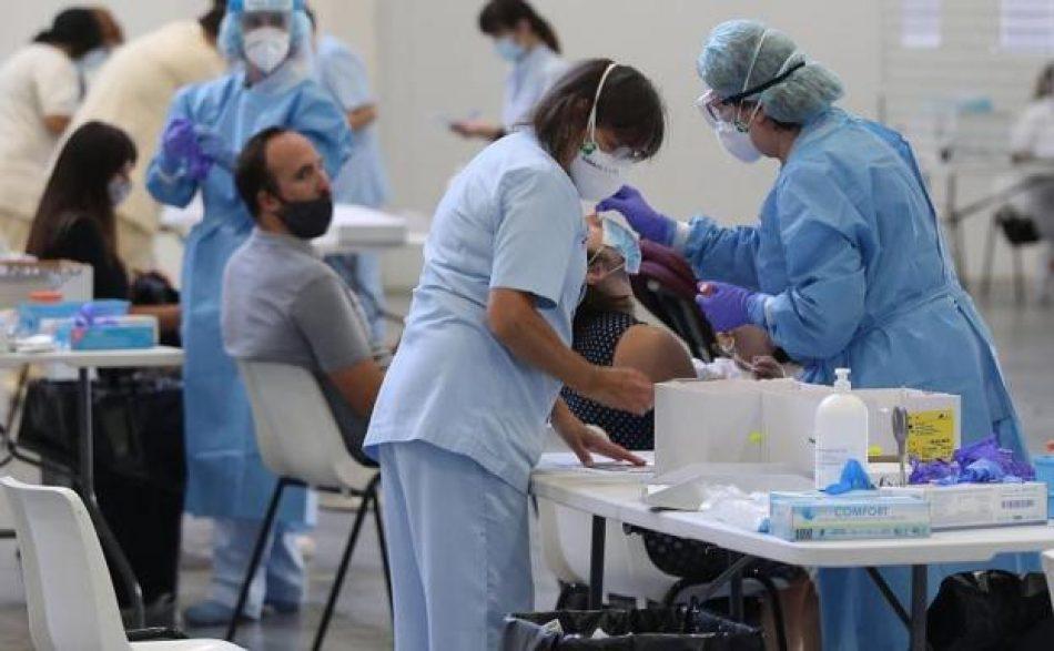 España ha realizado más de 50,4 millones de pruebas diagnósticas desde el inicio de la epidemia