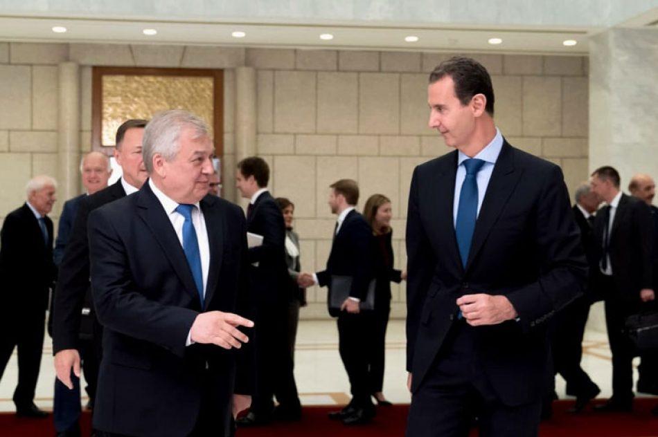 Rusia y Siria escenifican en Damasco el refuerzo de sus lazos de cooperación