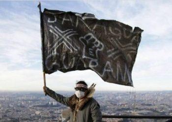 Indígenas ocupan en protesta torres de TV en Sao Paulo en Brasil