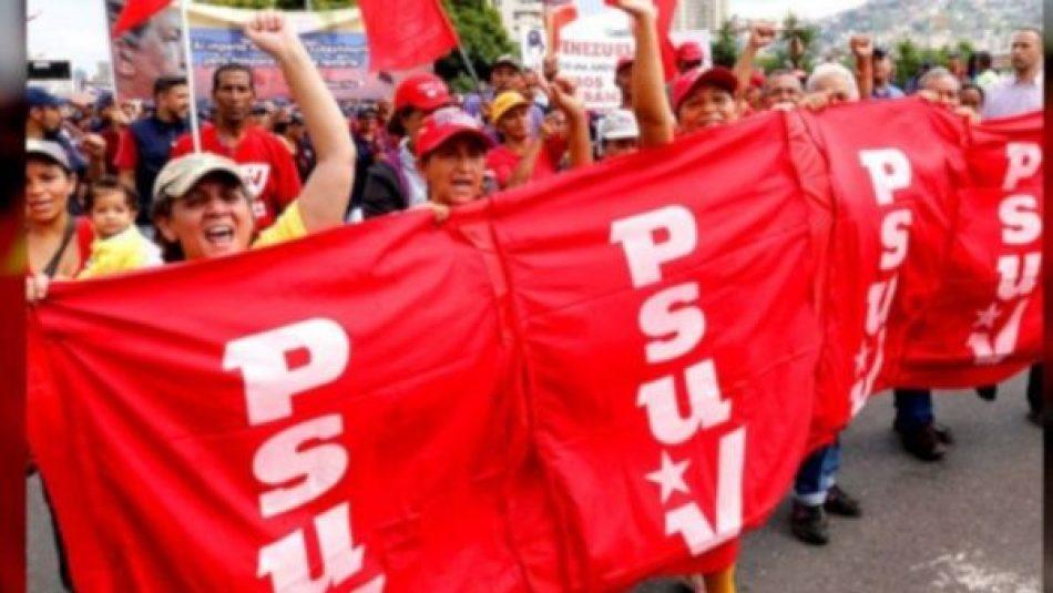 Destacan elevada participación en postulaciones del PSUV