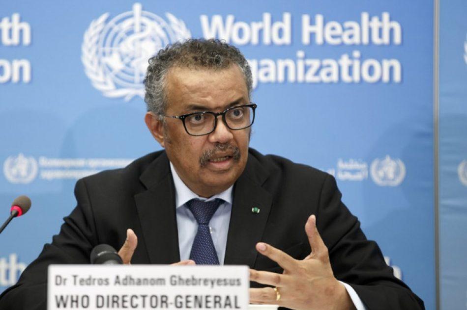 Denuncia OMS falta de compromiso político en vacunación antiCovid-19