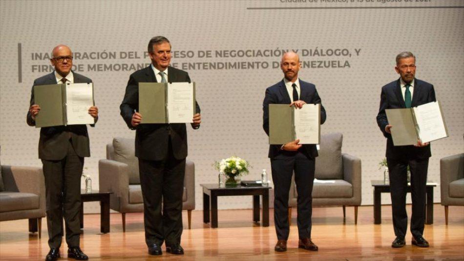 Grupo de Puebla apoya acuerdo de Gobierno venezolano y oposición