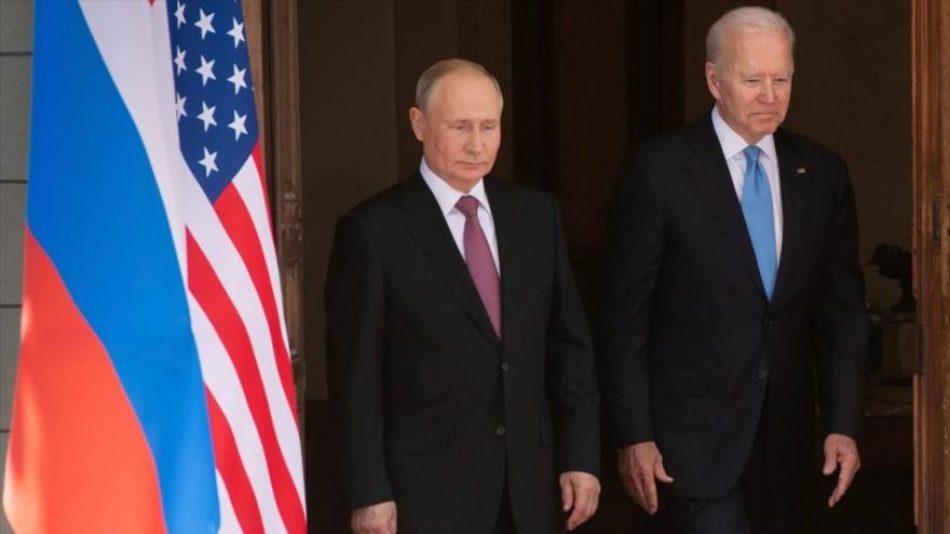 Putin avisó a Biden que no toleraba bases de EEUU en Asia Central