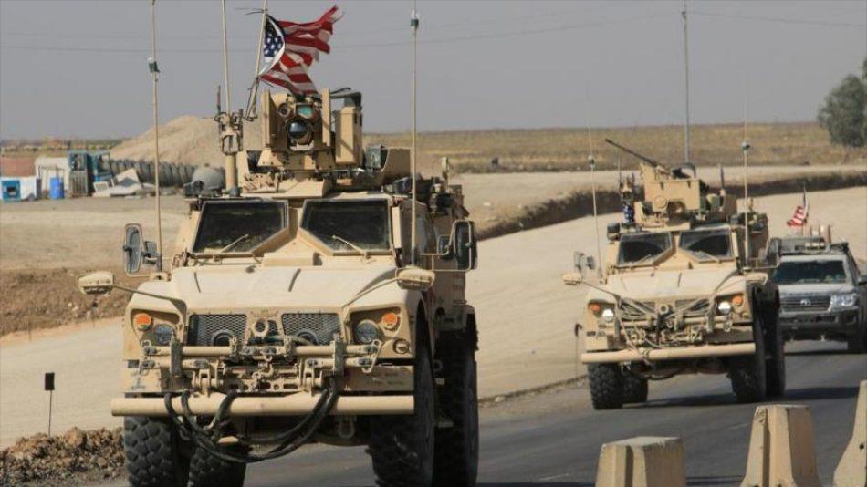EEUU roba otros 80 camiones de petróleo de Siria y los lleva a Irak