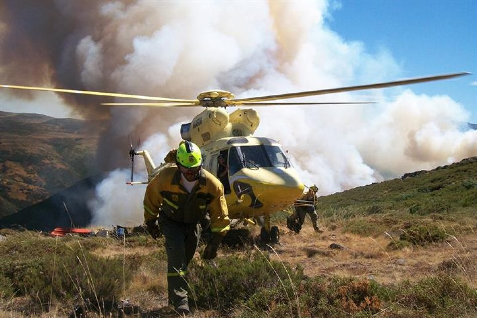 El coste de la extinción de incendios en Galicia alcanzó los 61,5 millones en 2020, un «disparate» para los ecologistas Arco Iris