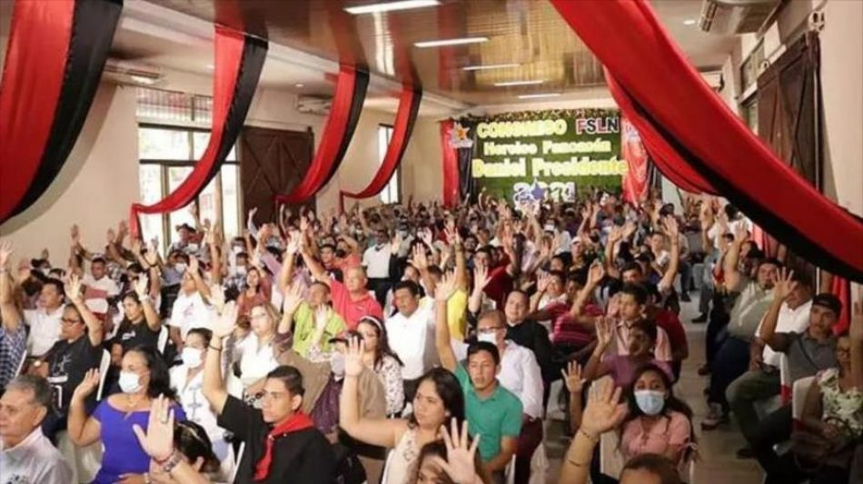 El partido gobernante FSLN lidera intención de voto en Nicaragua