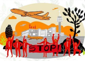 Grupos ecologistas piden a los presidentes Sánchez y Aragonès que paralicen la ampliación del aeropuerto del Prat