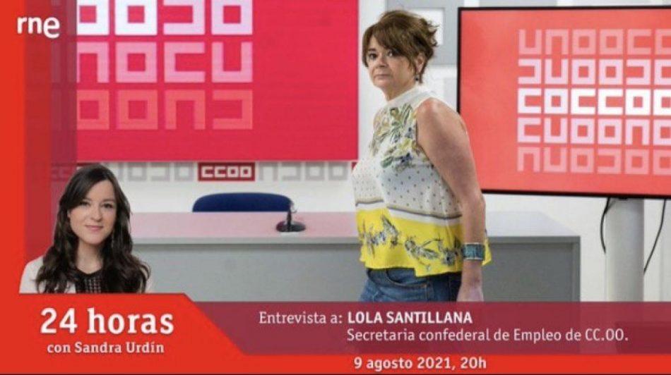Lola Santillana: «Contratos a tiempo parcial esconden jornadas completas»