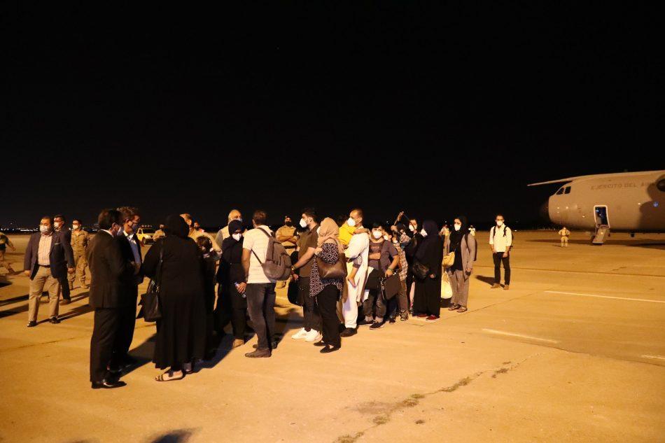 Inclusión finaliza la acogida de todas las familias huidas de Afganistán y llegadas a España