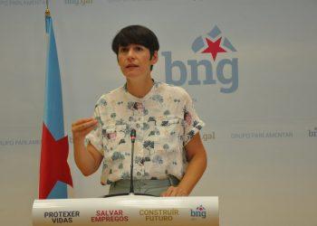 """Ana Pontón anuncia que o BNG impulsará unha lei no Parlamento para abaratar o recibo da luz, a través dunha """"Tarifa Eléctrica Galega"""""""
