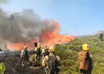 IUCyL muestra su preocupación por los incendios forestales en Ávila y reclama una vez más un operativo anual de prevención y extinción de incendios público