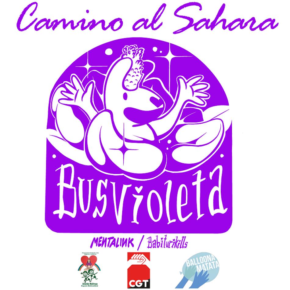 Bus violeta, camino al Sahara se presentará en València el 11 de Septiembre