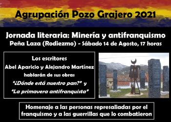 Jornada literaria Antifranquismo y Minería en Rodiezmo