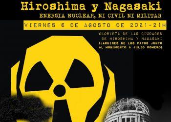 Concentración antinuclear en Córdoba en el aniversario de las bombas atómicas de Hiroshima y Nagasaki