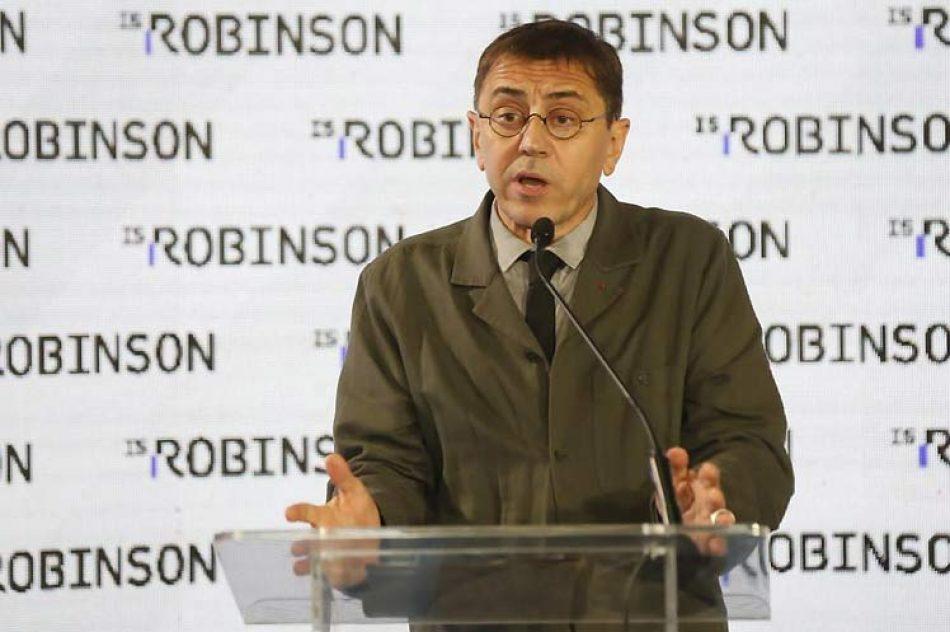 Juan Carlos Monedero percibe diálogo como punto de inflexión en Venezuela