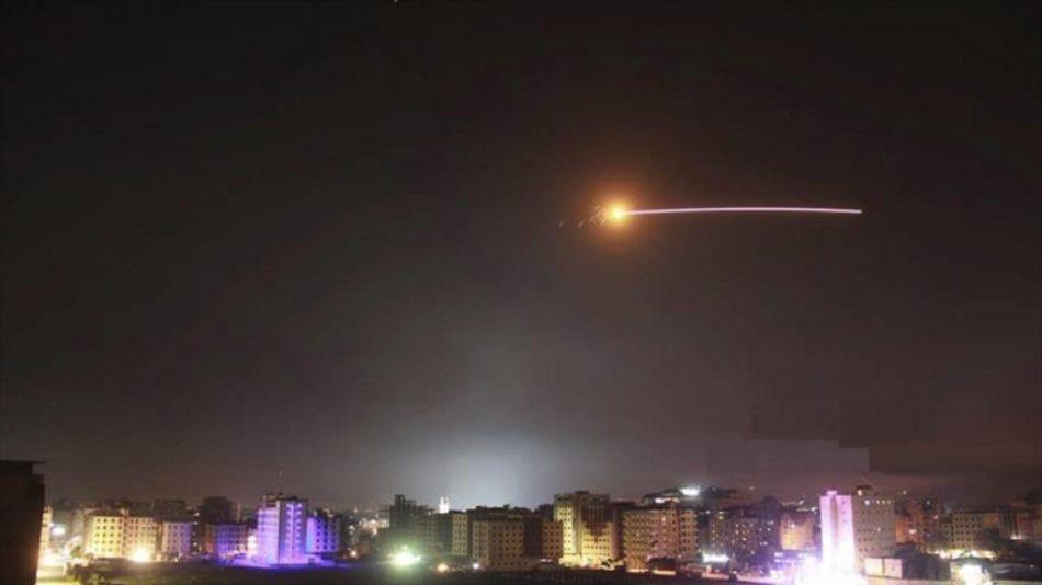 Siria repele un ataque israelí derribando 22 misiles dirigidos a dos zonas del país