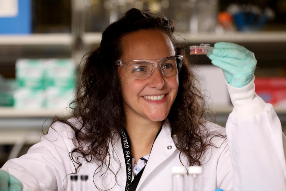 Pilar de la Puente, la bióloga española que recrea el cáncer en 3D para frenar su avance