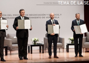 Diálogo en México: paso histórico para la paz y el fin del bloqueo a Venezuela